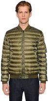 Moncler Aidan Nylon Down Bomber Jacket