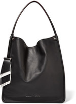 Proenza Schouler Tasseled Medium Leather Tote - Black