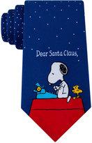 Peanuts Men's Dear Santa Clause Tie