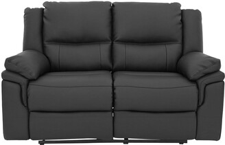 AlbionLuxury Faux Leather 2 Seater Manual Recliner Sofa