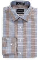 Nordstrom Men's Smartcare(TM) Traditional Fit Graphic Check Dress Shirt