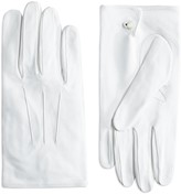 Brooks Brothers White Formal Gloves