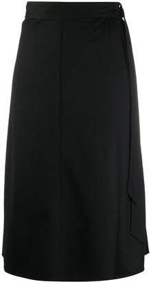Forte Forte Wrap Midi Skirt