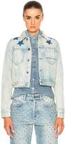 Givenchy Black Star Denim Jacket