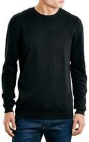 Topman Men's Cotton Twist Crewneck Sweater