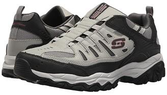 Skechers After Burn M. Fit (Black/Charcoal) Men's Shoes