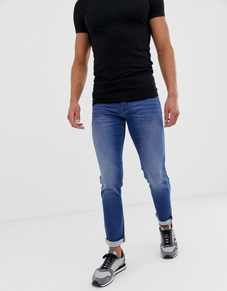 Armani Exchange J14 skinny fit light wash jeans