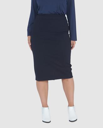 Advocado Plus Essential Pencil Skirt