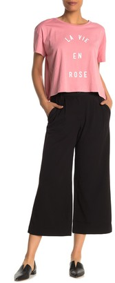French Connection Angeline Drape Wide Leg Trousers