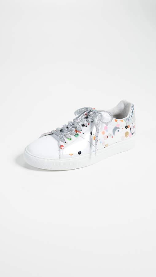 D.A.T.E Newman High Tech Sneakers