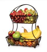 Mikasa Gourmet Basics Lattice 2 Tier Fruit Basket