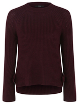 George Tie-Side Chunky-Knit Jumper