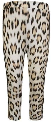 Roberto Cavalli Children Girls Leopard Leggings