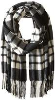 Phenix Cashmere Women's Plaid 100 Percent Cashmere Wrap