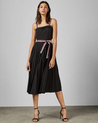 Ted Baker Sleeveless Pleated Dress