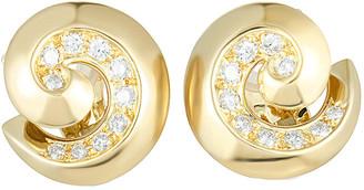 Van Cleef & Arpels Heritage  18K 1.25 Ct. Tw. Diamond Earrings