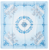 """Cosmos"" Silk Pocket Square, 16"" x 16"""
