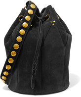 Jerome Dreyfuss Popeye quilted nubuck bucket bag