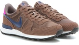 Nike Internationalist Premium Suede-trimmed Sneakers