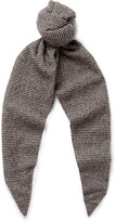 Altea Puppytooth Virgin Wool Scarf