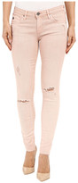 AG Adriano Goldschmied The Leggings Ankle in Sun Faded Distressed Sandy Rose