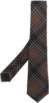 Kiton plaid tie - men - Silk - One Size