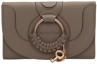 See by Chloe Hana Small Wallet In Grey Leather