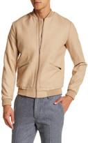 Topman Brown Bomber Jacket