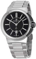 Swarovski Piazza Grande Black Dial Stainless Steel Quartz Men's Watch