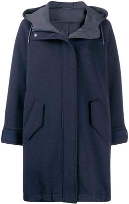 Brunello Cucinelli hooded winter coat