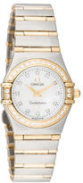 Omega Constellation Two-Tone Diamond Watch