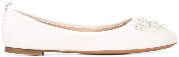 Marc Jacobs studded ballerina shoes