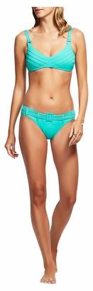 Seafolly Women's Pintucked Bralette Bikini Top Swimsuit