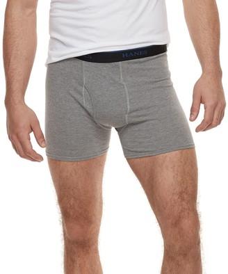 Hanes Men's 4-pack ComfortBlend Fresh IQ Boxer Briefs