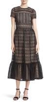 Kate Spade Women's Lace Midi Dress