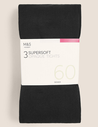 Marks and Spencer 3 Pack 60 Denier Supersoft Tights