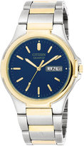 Citizen Men's Two Tone Stainless Steel Bracelet Watch 38mm BK3564-52L