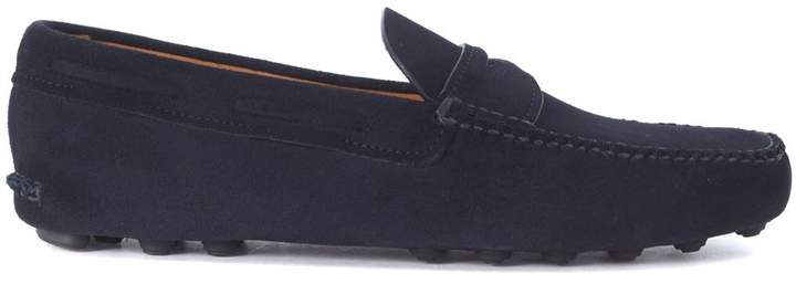 Church's Luigi Blue Suede Loafers