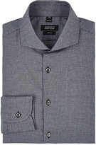 Barneys New York Men's Micro-Houndstooth Cotton Flannel Shirt