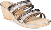 Easy Street Shoes Tuscany Pilato Wedge Sandals