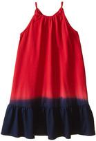 Polo Ralph Lauren Jersey Dip-Dye Maxi Dress (Little Kids)