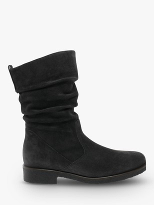 Gabor Greendale Wide Fit Gathered Detail Calf Boots
