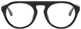 Dries Van Noten Black Linda Farrow Edition 65 C12 Glasses