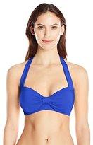 Seafolly Women's Goddess DD Cup Halter Bikini Top