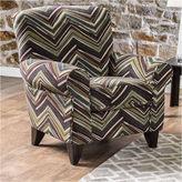 Asstd National Brand Fiorell Contemporary Fabric Club Chair