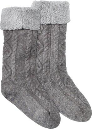 L.L. Bean L.L.Bean Women's Fireside Gripper Socks