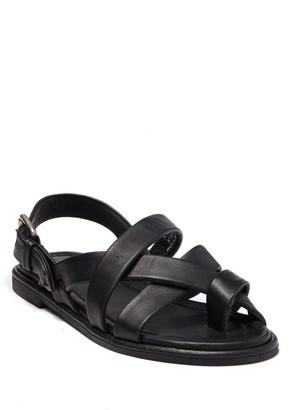 Frye Tait Softy Criss Cross Flat Sandal