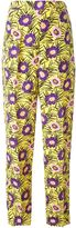 Marni 'Asticon' print trousers - women - Viscose - 42