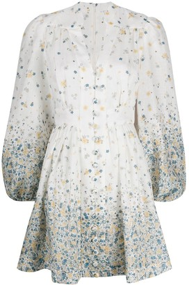 Zimmermann Carnaby linen mini dress
