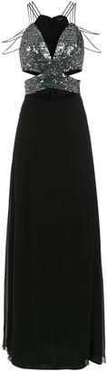 Tufi Duek embellished long dress
